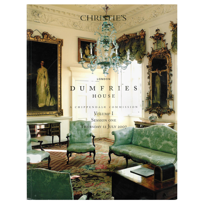 Christie's, Dumfries House Sale Catalogues, A Chippendale Commission, 2007