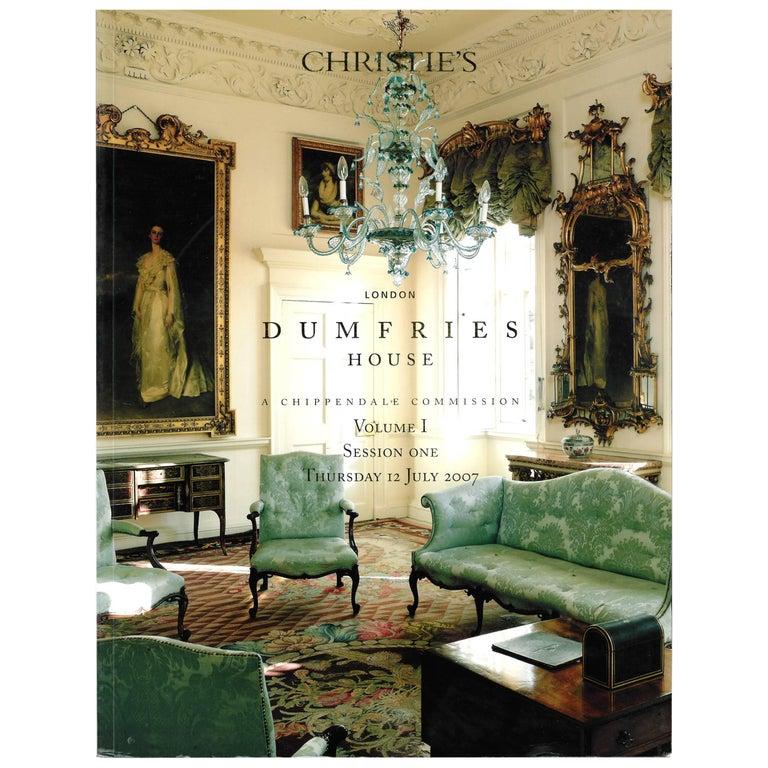 Christie's, Dumfries House Sale Catalogues, A Chippendale