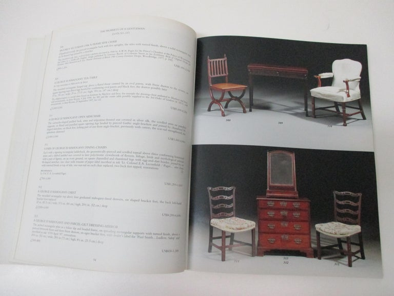 Empire Christie's Fine English Furniture with The Collection of Diane and Thomas Berger For Sale