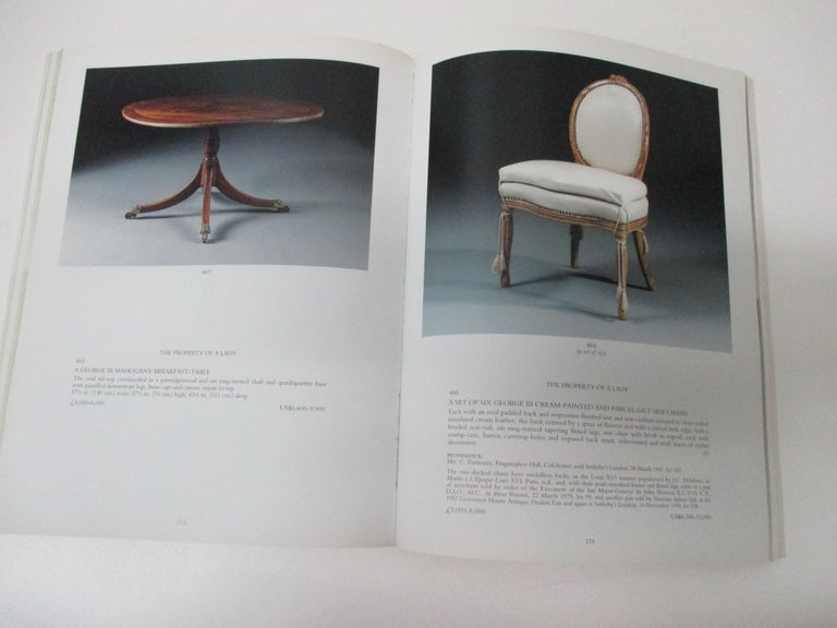 European Christie's Fine English Furniture with The Collection of Diane and Thomas Berger For Sale