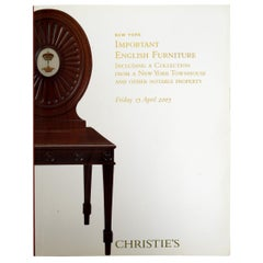 Christie's Important English Furniture, New York Townhouse Collection, 2005
