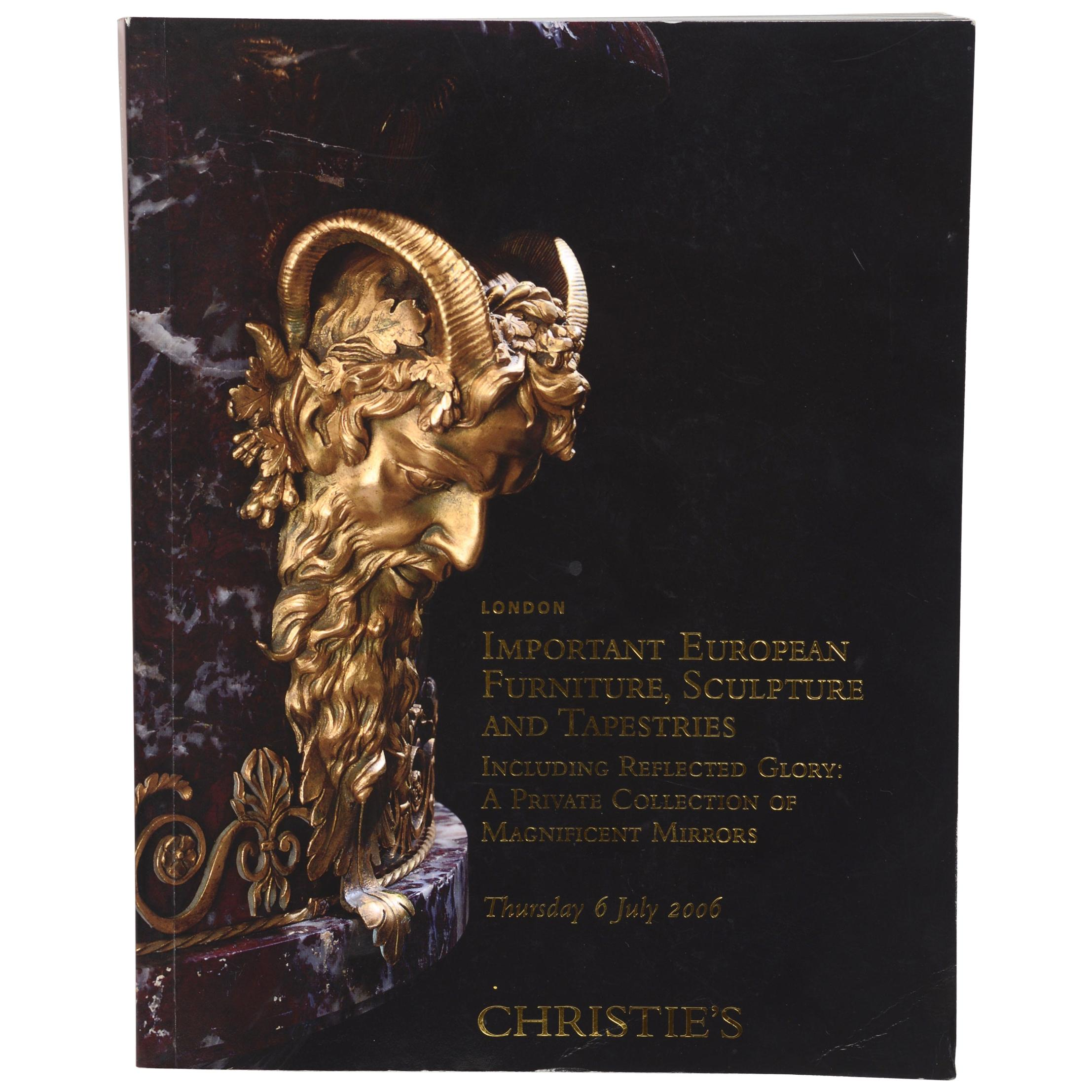Christie's, Important European Furniture & a Collection of Magnificent Mirrors
