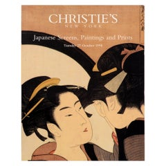 Christie's Japanese Screens, Paintings and Prints, 27 October 1998