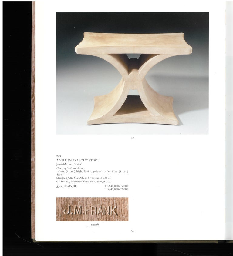 Christies London, May 2000, a Private European Collection 'J M Frank' For Sale 1
