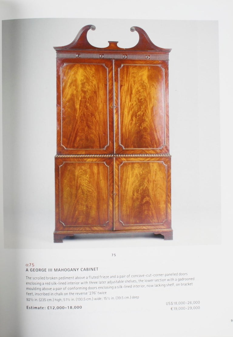 Christie's London, The Proprety of Michael Lipitch Ltd., October 2001 For Sale 5