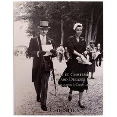Christie's November 2006 Comte et Comtesse Edouard Decazes, Paris, 1st Edition