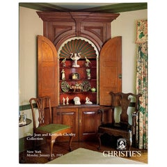 Christie's NY Auction Catalogue, Jean & Kenneth Chorley Art Collection, 1993