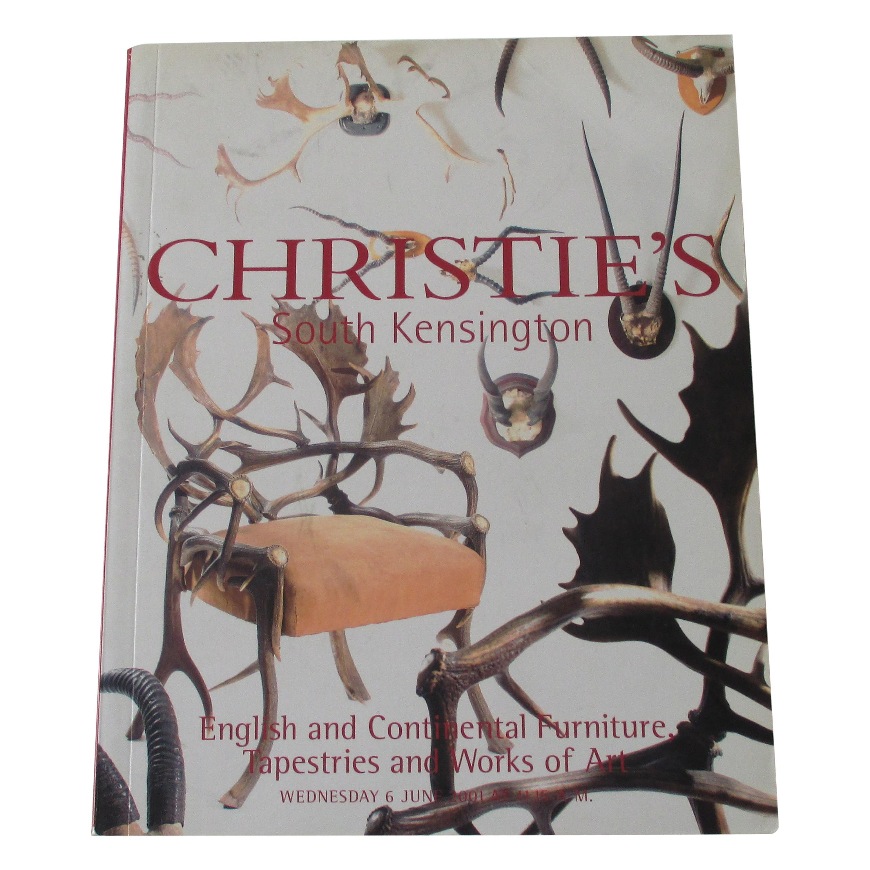 Christie's South Kensington Auction Catalog