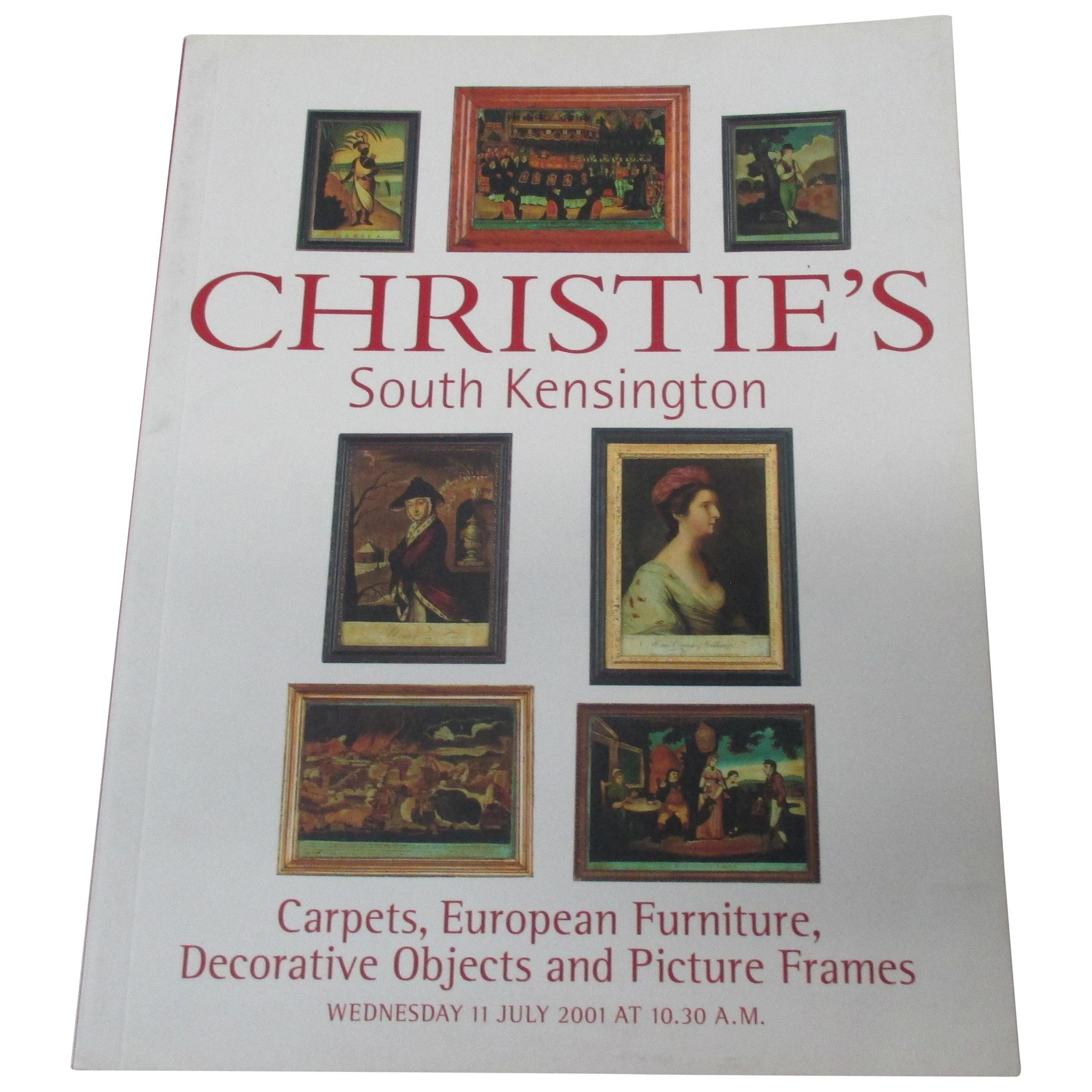 Christie's South Kensington Carpets, European Furniture, Decorative Objects