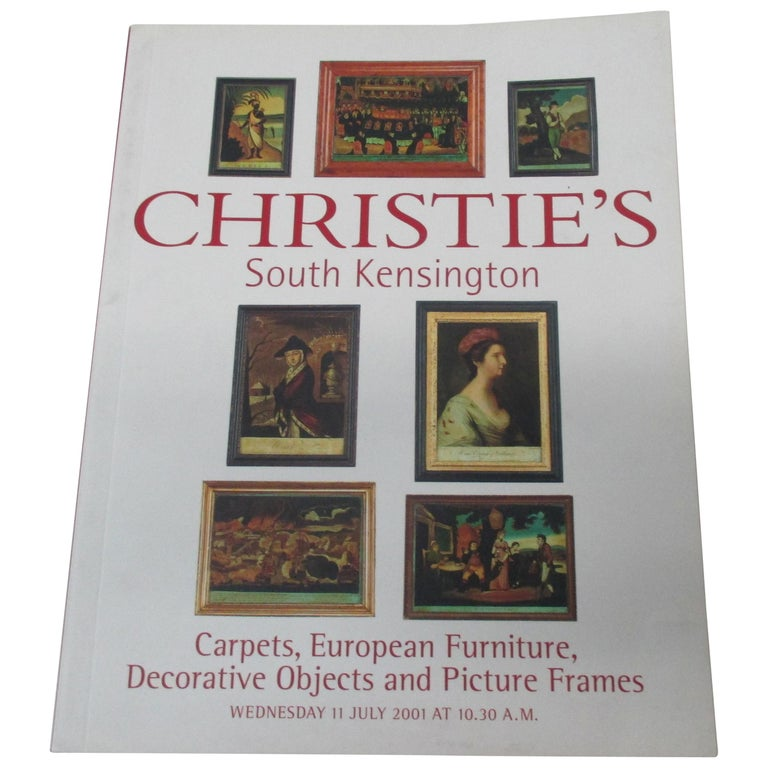 Christie's South Kensington Carpets, European Furniture, Decorative Objects For Sale