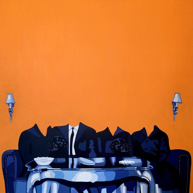 Christina Holdgaard Interior Painting - Amnesia 1 - surreal painting