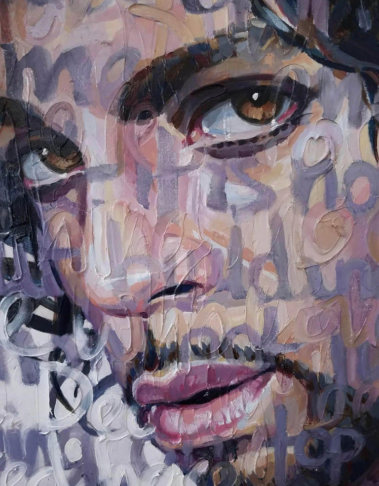 Large Oil Painting Titled: Prince For Sale 2