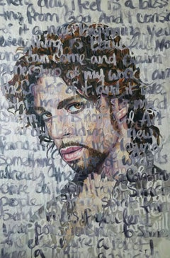 Large Oil Painting Titled: Prince