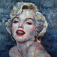 Oil Painting Titled: Marilyn