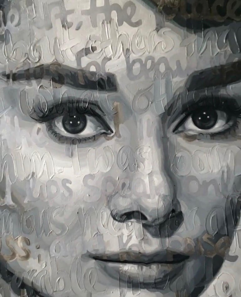 Original Oil On Canvas Painting Titled: Audrey For Sale 10