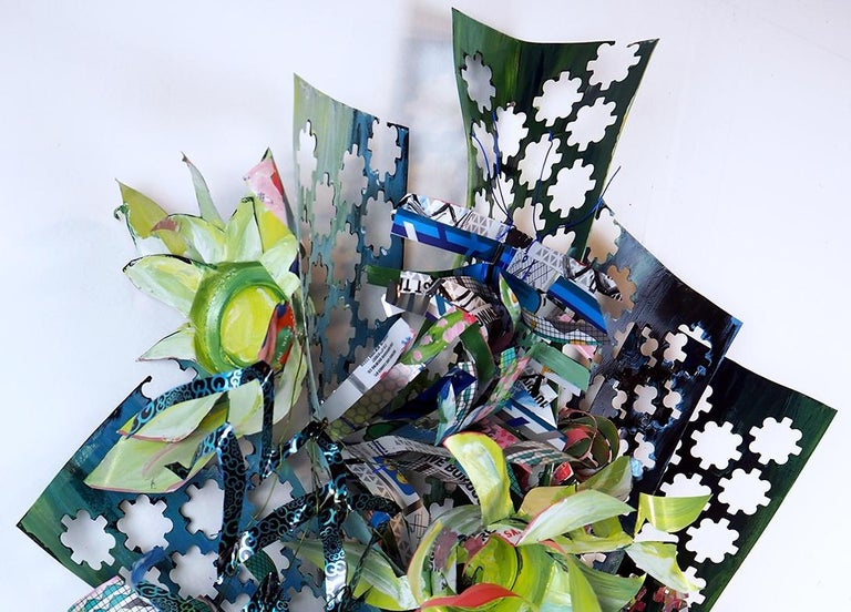 Hints of Floral - Sculpture by Christina Massey