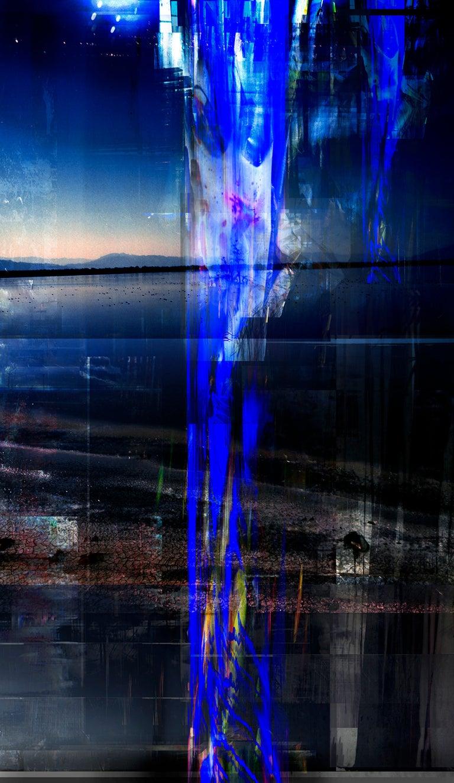 Christina McPhee Color Photograph - Slipoubliette New River Geothermal Landscape