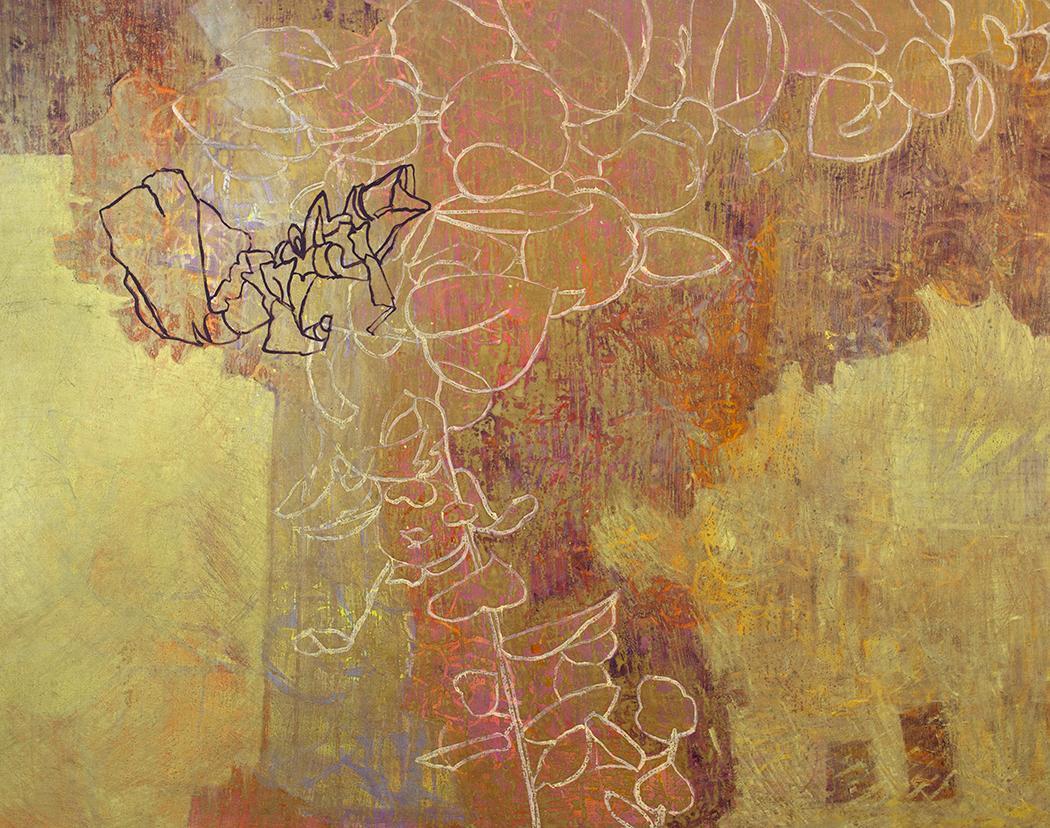 """Abundance,"" Abstract Painting"