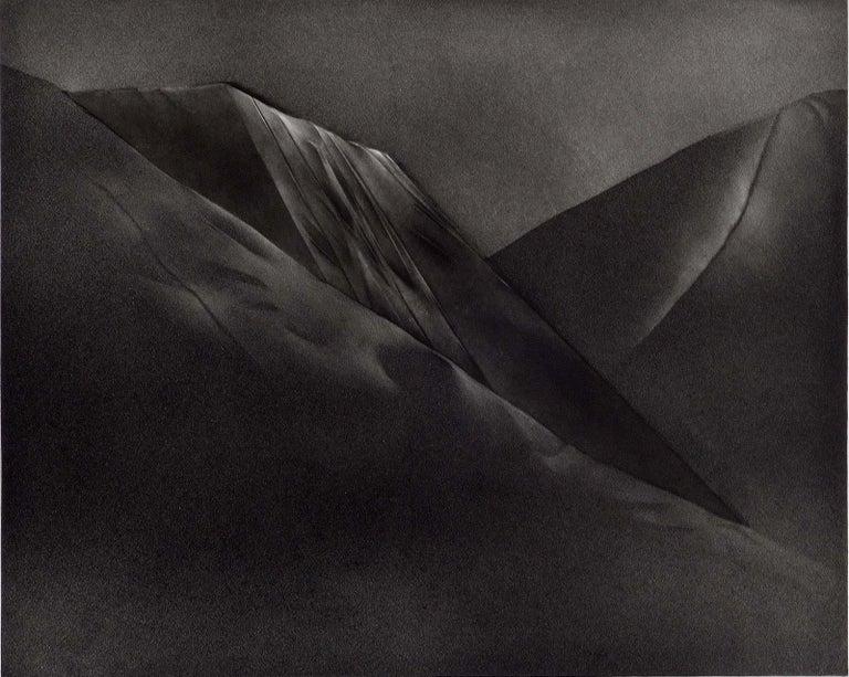Christine Ravaux Landscape Print - Mont et Mervale (Mountains and Wonder)