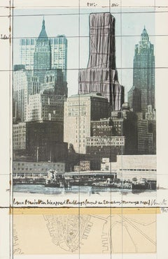 Lower Manhattan Wrapped Buildings, Project for 2 Broadway, 20 Exchange Place