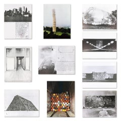 Monuments, Portfolio with 10 Prints and Sculpture, Documenta, Concept Art