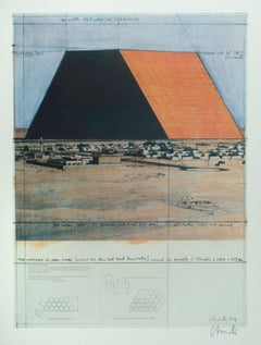 Poster for the conceived project, The Mastaba