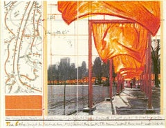 The Gates (a), Christo and Jeanne-Claude