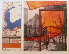 The Gates (e), Project for Central Park, Christo and Jeanne-Claude