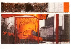 The Gates (p), from the Project for Central Park, Christo and Jeanne-Claude