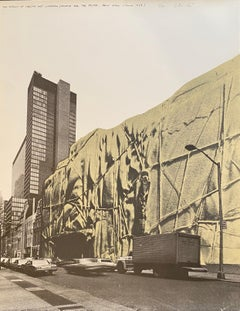 The Museum of Modern Art-Wrapped (Project for the Museum of Modern Art New York