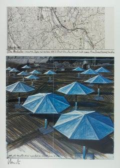 The Umbrellas (Blue)