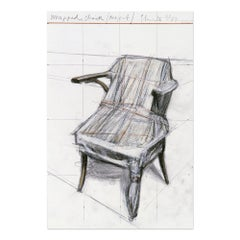 Wrapped Chair (Project), Contemporary Art, Conceptual Art