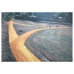 Christo und Jeanne-Claude, Verhüllte Spazierwege, Kansas City Missouri, 1977-1978