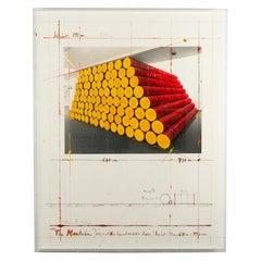 """Christo & Jeanne Claude - """"The Mastaba Project for Kunstverein Köln"""", 1986"""