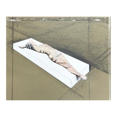 Christo Lithograph-Collage Wrapped Woman, 1996