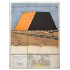 Christo The Mastaba of Abu Dhabi Project for United Arab Emirates Collage, 1979