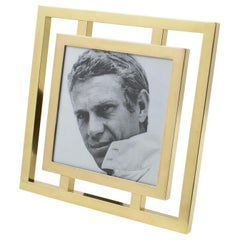 Christofle France 1970s Brass Picture Frame