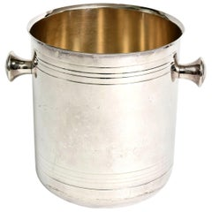 Christofle Silver-Plate Champagne Cooler Ice Bucket Barware