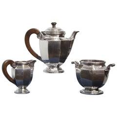 Christofle Silver Plated Coffee Set, circa 1950