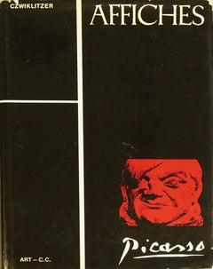 1968 After Christophe Czwiklitzer 'Affiches de Pablo Picasso' Black,Red Book