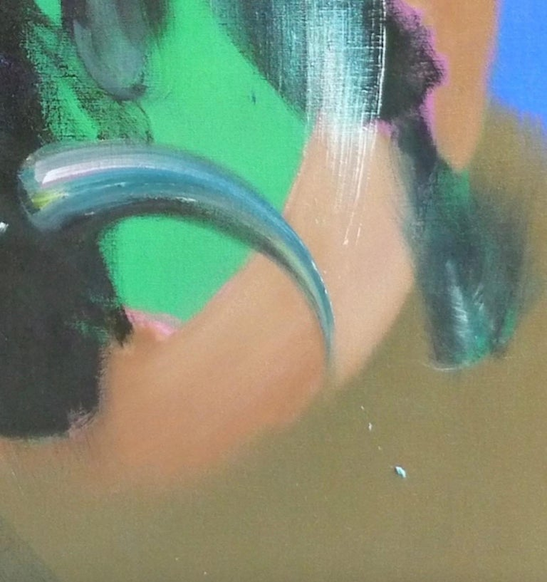 MITHRA by Christophe Dupety - bullfighting, colorful painting, contemporary For Sale 1