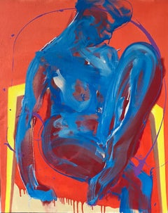 Padua by Christophe Dupety - Female Nude Painting, Contemporary