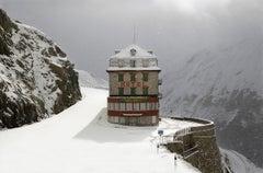Belvedere Hotel 2, Blizzard 3 series by Christophe Jacrot, Landscape photography