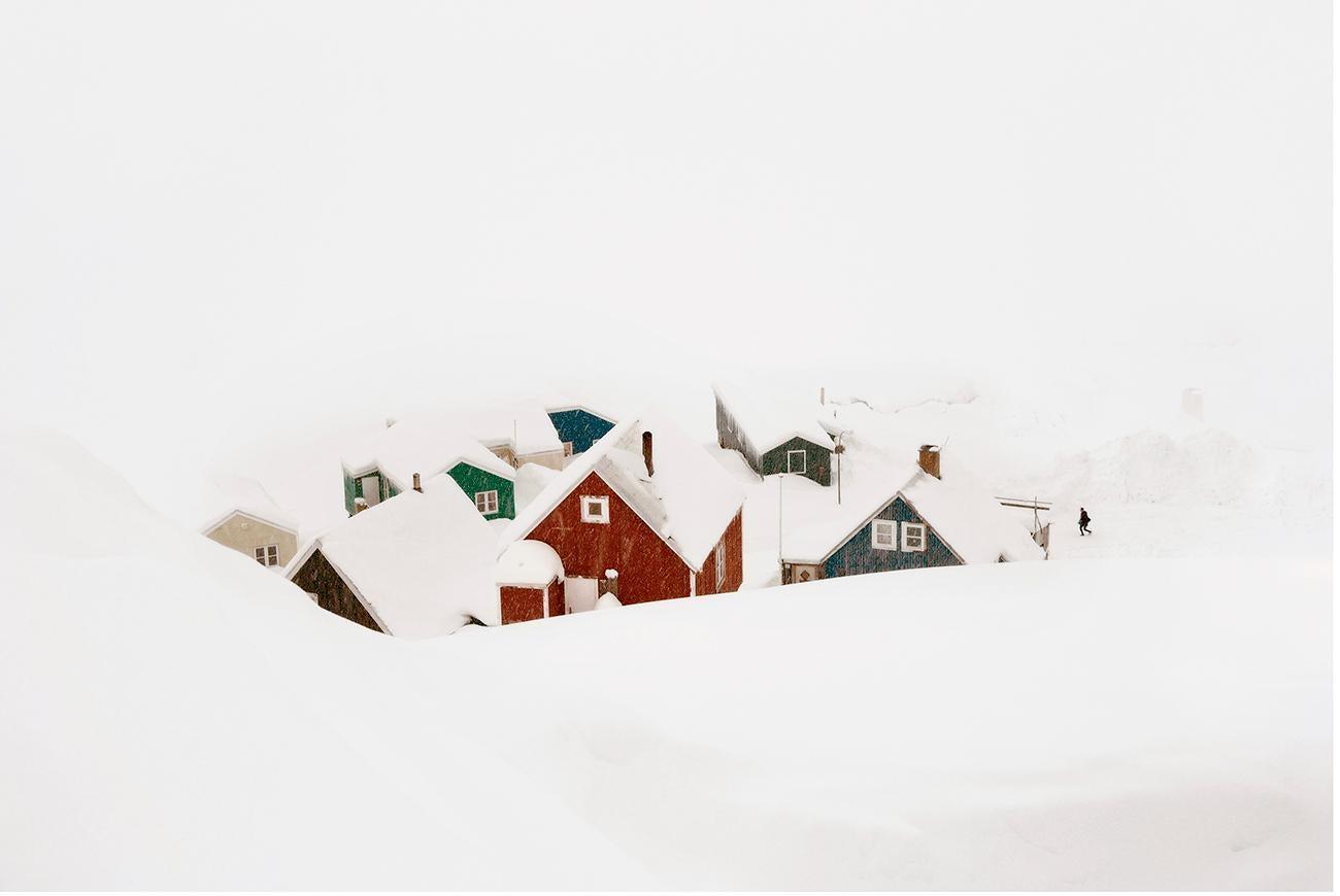 Hamlet, Blizzard 2 series by Christophe Jacrot - Winter Landscape Photography