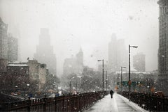 New York Warms Up (New York in White) by Christophe Jacrot - urban photography