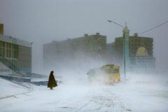 The Bus (Norilsk series, Landscape photography)
