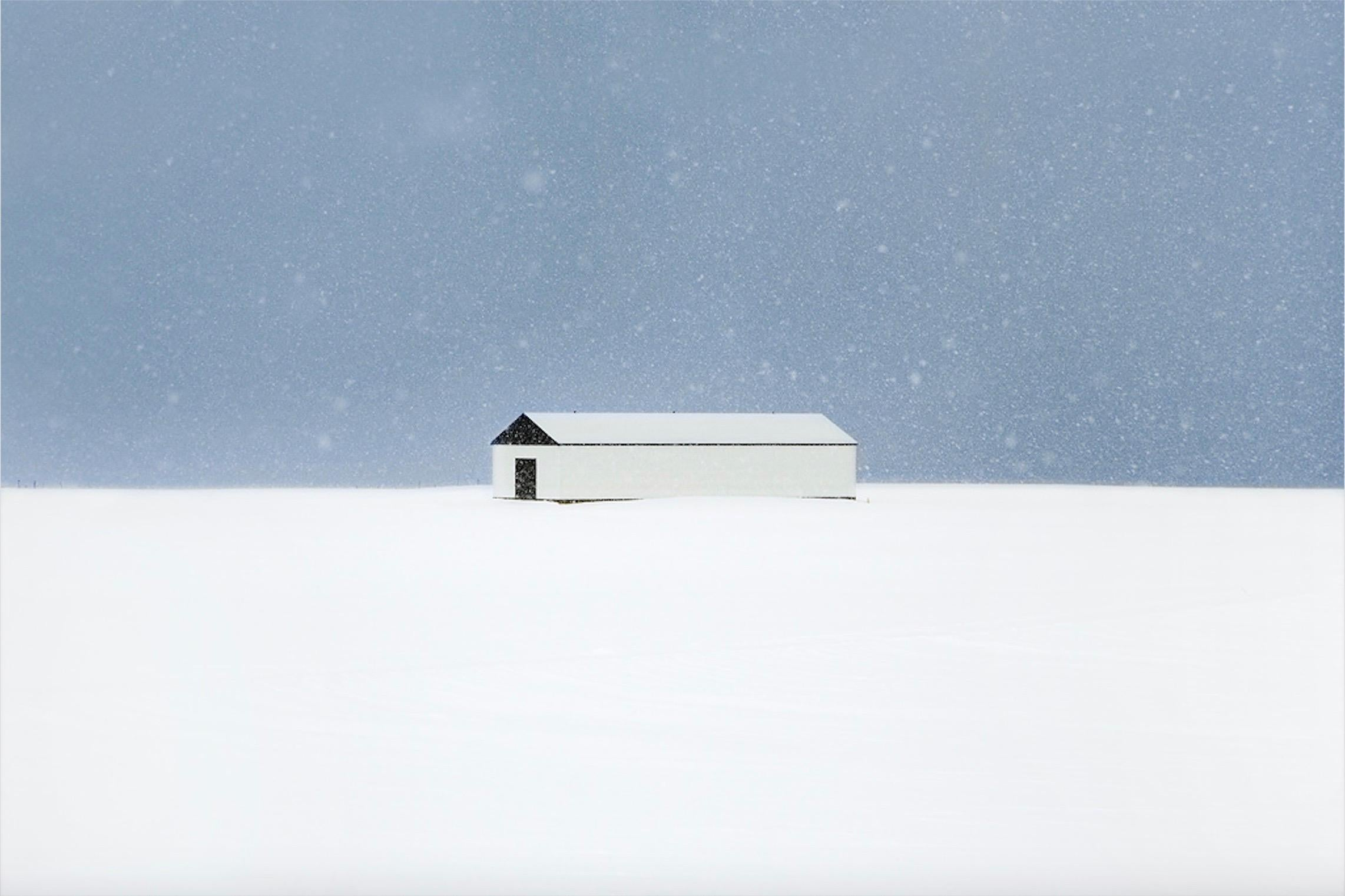 The Farm, Snjór series by Christophe Jacrot - Winter photography, Iceland