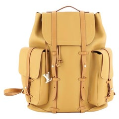 Christopher Backpack Vachetta Leather GM