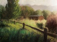 """""""Farmhouse in the Country"""", Oil Painting"""