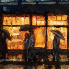 """Story of Paris Vol 2, no 12"", Oil Painting"